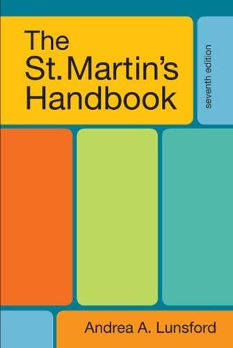 St Martin's Handbook