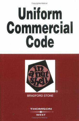 Uniform Commercial Code In A Nutshell