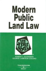 Modern Public Land Law In A Nutshell
