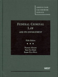 Federal Criminal Law And Its Enforcement