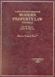 Cases And Materials On Modern Property Law