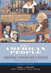 American People Volume 1 Concise Edition