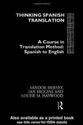 Thinking Spanish Translation