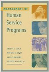 Management Of Human Service Programs