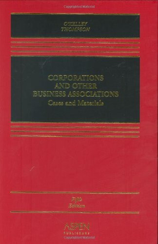 Corporations And Other Business Associations