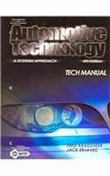 Tech Manual For Erjavec's Automotive Technology