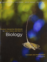 Workbook For Starr's Biology Concepts And Applications