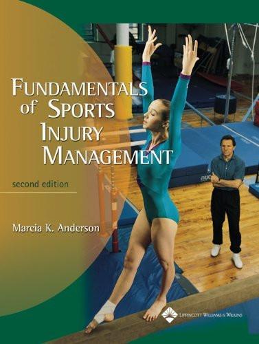 Fundamentals Of Sports Injury Management