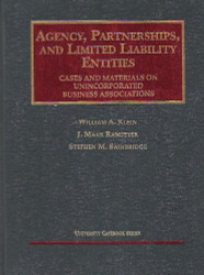 Agency Partnerships And Limited Liability Entities