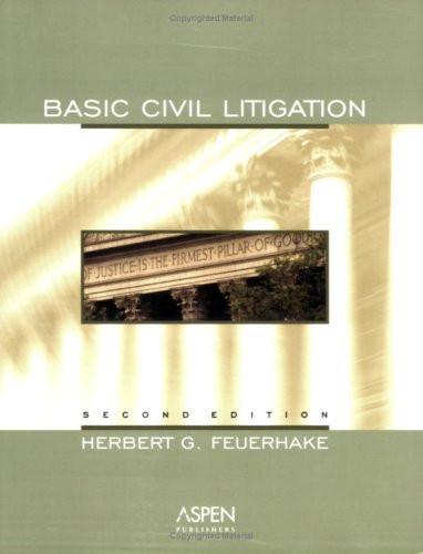 Basic Civil Litigation