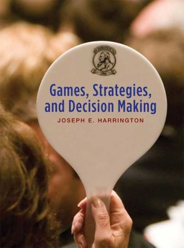 Games Strategies And Decision Making