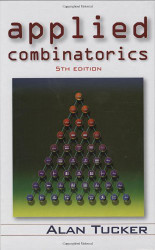 Applied Combinatorics by Tucker Alan