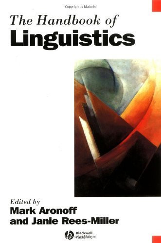 Handbook Of English Linguistics