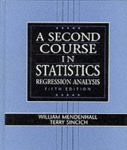 Second Course In Statistics