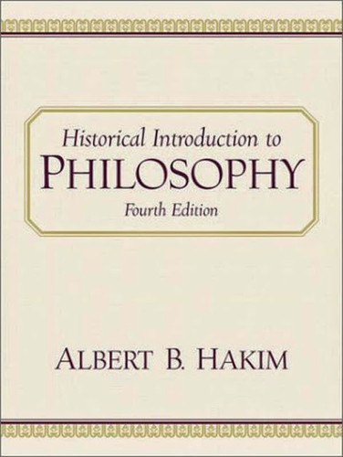 Historical Introduction To Philosophy