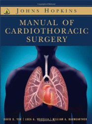 Johns Hopkins Textbook Of Cardiothoracic Surgery