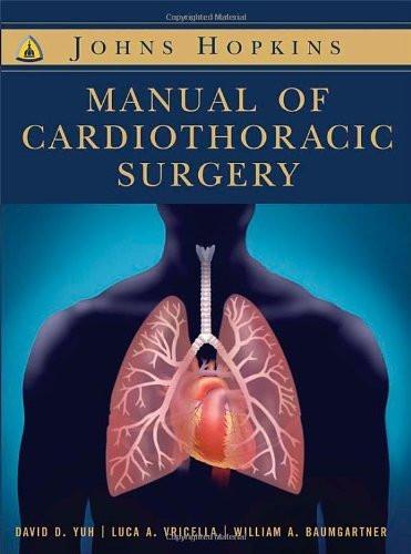 Johns Hopkins Textbook Of Cardiothoracic Surgery