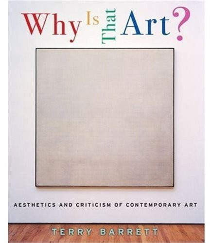 Why Is That Art?