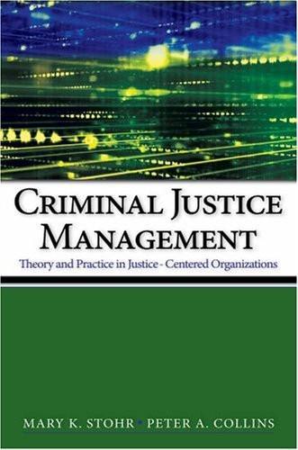 Criminal Justice Management