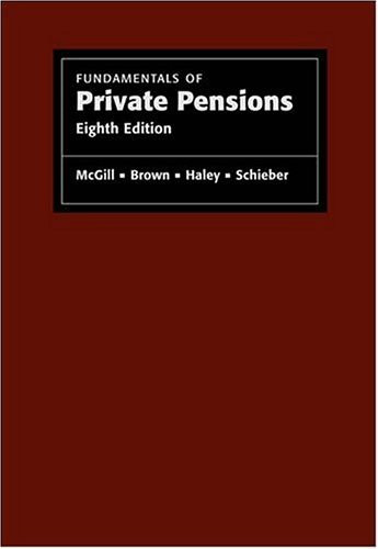 Fundamentals Of Private Pensions