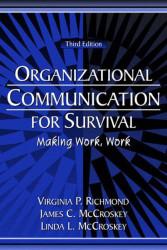 Organizational Communication For Survival