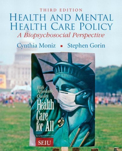 Health And Mental Health Care Policy