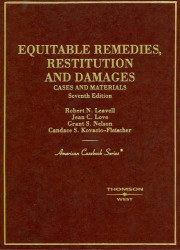 Equitable Remedies Restitution And Damages Cases And Materials
