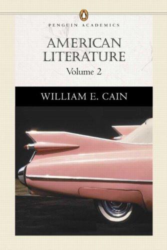 American Literature Volume 2