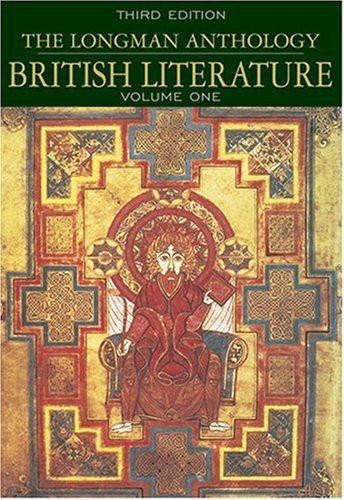 Longman Anthology Of British Literature Volume 1