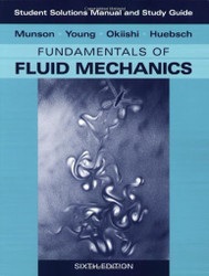 And Student Study Guide To Fundamentals Of Fluid Mechanics