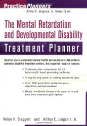 Mental Retardation And Developmental Disability Treatment Planner