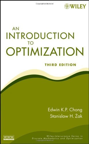 Introduction To Optimization