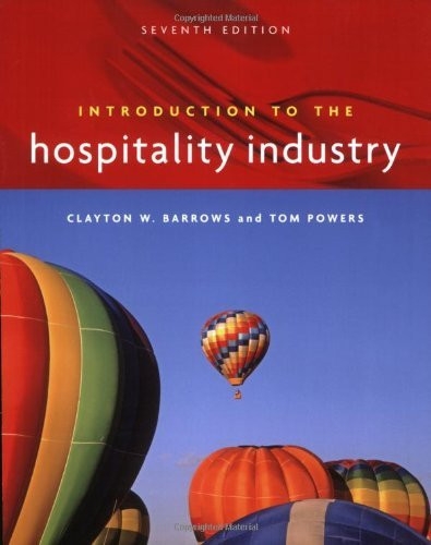 Introduction To The Hospitality Industry