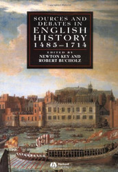 Sources And Debates In English History