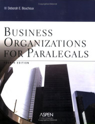 Business Organizations For Paralegals