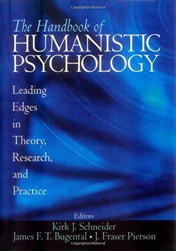 Handbook Of Humanistic Psychology