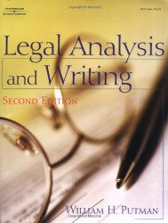 Legal Analysis And Writing