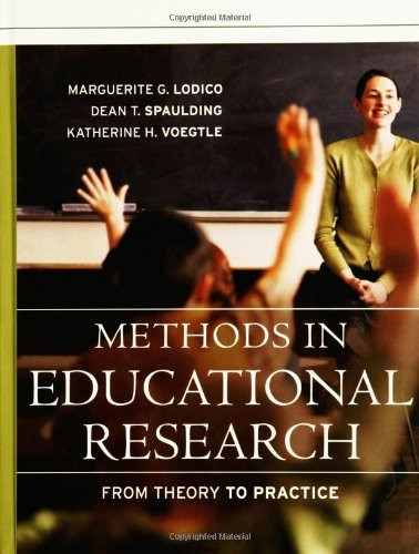 Methods In Educational Research