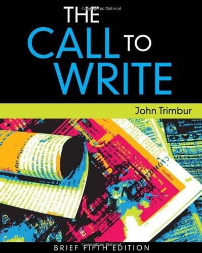 Call To Write Brief