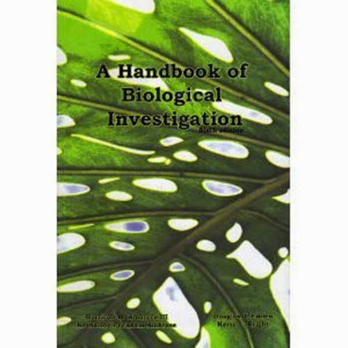 Handbook Of Biological Investigation