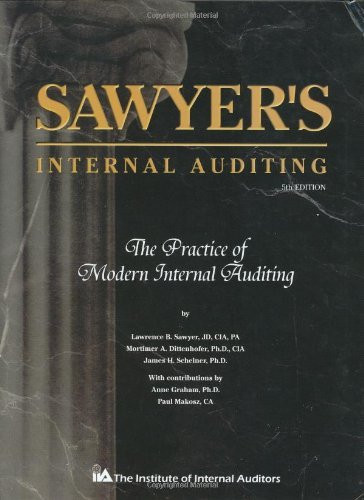Sawyer S Guide For Internal Auditors
