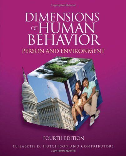 Dimensions Of Human Behavior Person And Environment