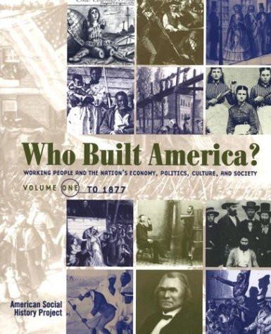 Who Built America? Volume 1