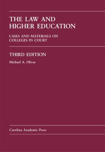 Law And Higher Education