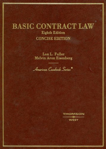 Basic Contract Law Concise