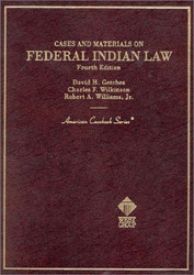 Cases And Materials On Federal Indian Law