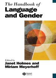 Handbook Of Language Gender And Sexuality