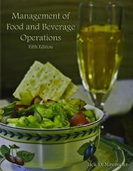 Management Of Food And Beverage Operations - Jack D Ninemeier