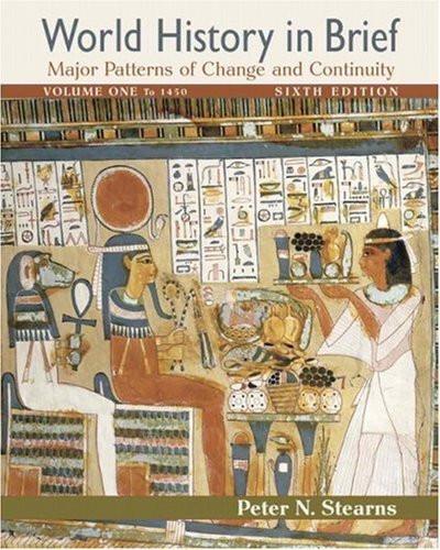World History In Brief Volume 1