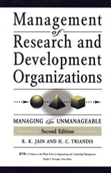 Management Of Research And Development Organizations